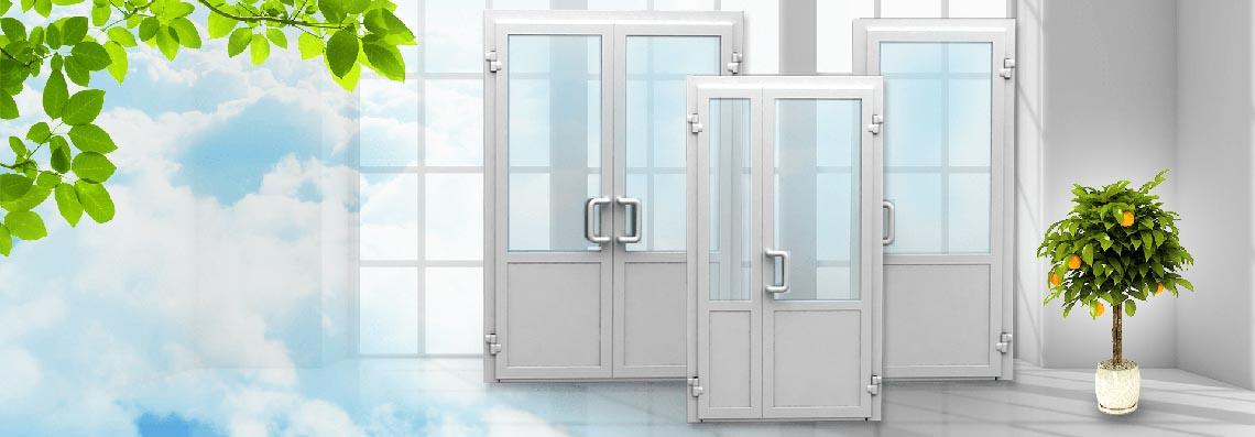 Пластиковые двери ПВХ